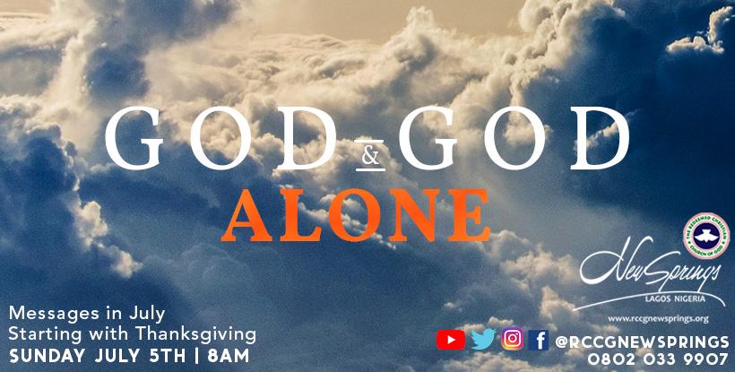 God web banner