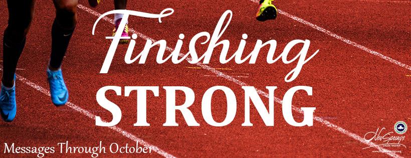 finishing strong webpage blank